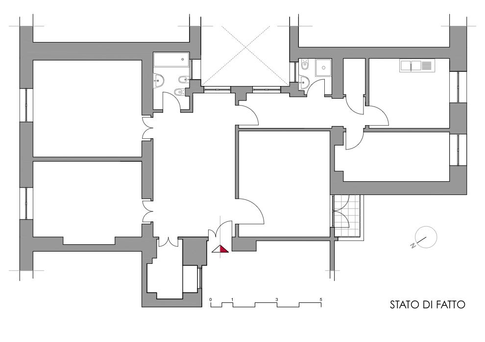 Schema Elettrico Di Un Appartamento : Schema topografico di un appartamento fare una mosca