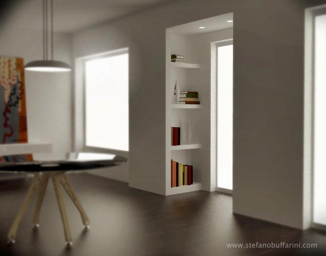 Finestre e strombature non regolari librerie scritto for Immagini librerie d arredamento