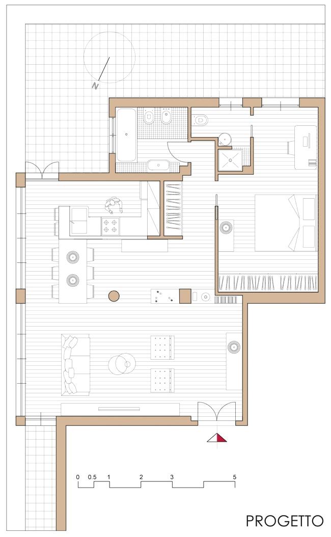 appartamento – scritto di notte
